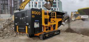 R9R Crushing Concrete with Rebar