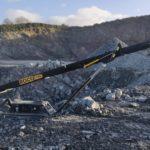 ROCO T80 Stacker Working In Irish Quarry
