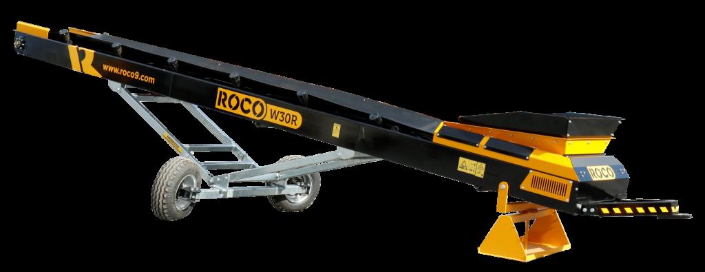 W30R wheeled conveyor