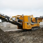 recycling crusher ryder 1000