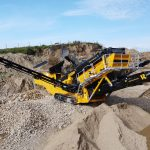 X5 Screener working in Irish Sand & Gravel Pit