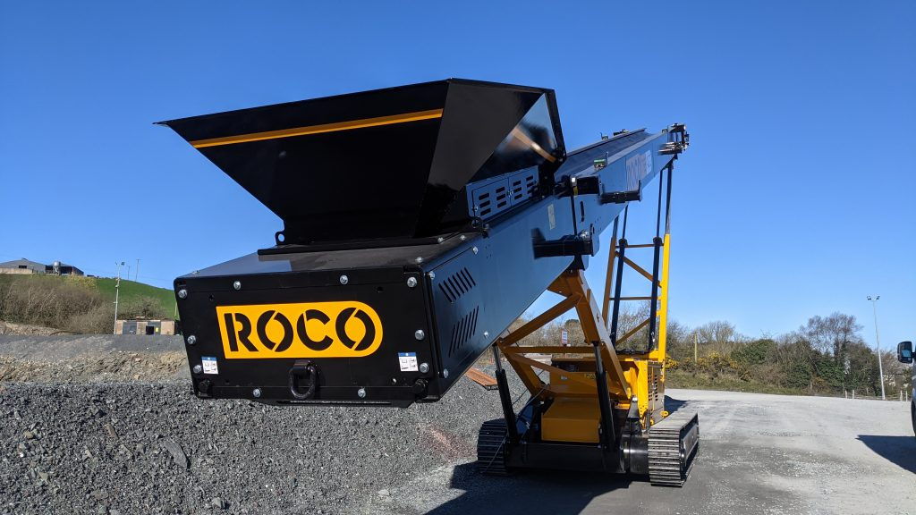T65Agg Tracked Stacker